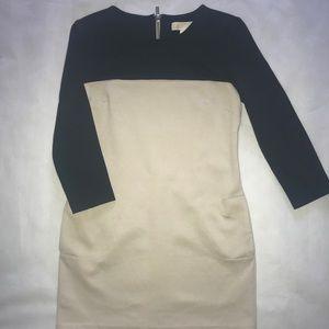 Michael Kors mini color block dress